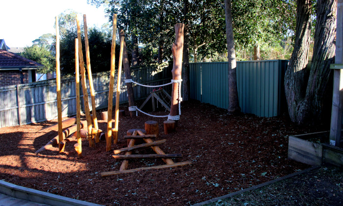 Winmalee Community Preschool nature playground