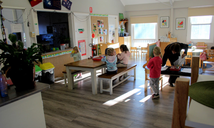 Winmalee Community Preschool indoor play environment